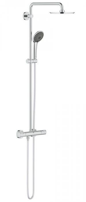 GROHE Vitalio Joy System XXL 210 Dusjsystem med termostat for veggmontering