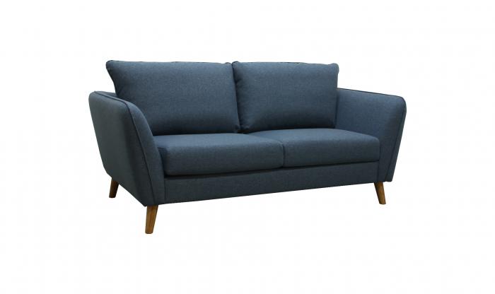 Ålesund 2-seter sofa - sjøblå