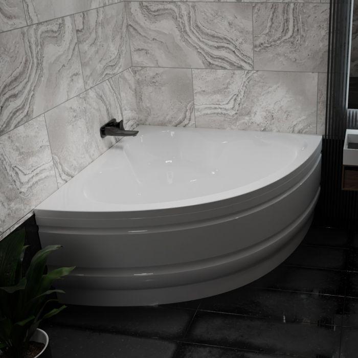 Waterlux Kalabria hjørnebadekar 120x120