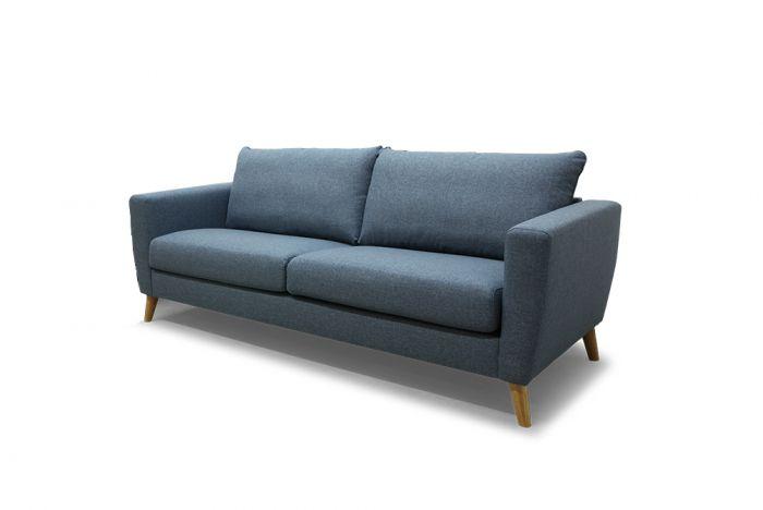 Kragerø 3-seter sofa - sjøblå
