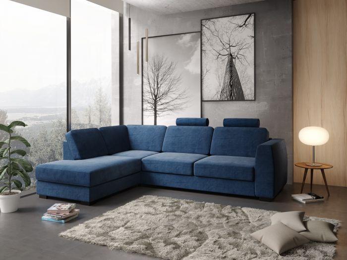 Risør A3 sofa med sjeselong - Velvet 14