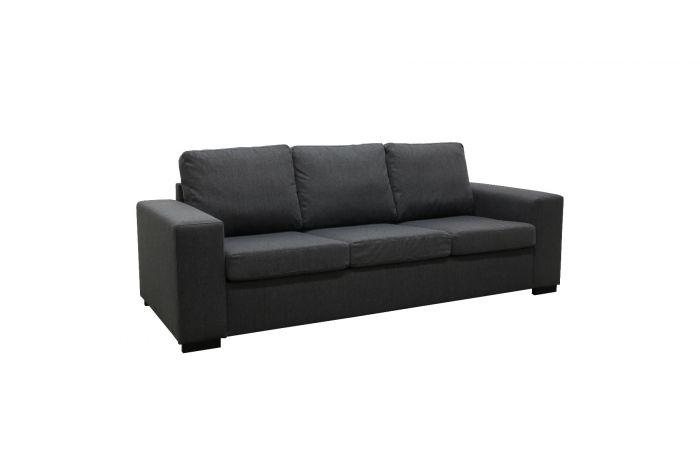 Søvik 3-seter sofa - antrasitt