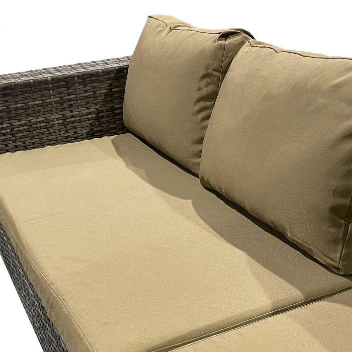 Cameo Brown putetrekk - Sett for komplett Sun daybed