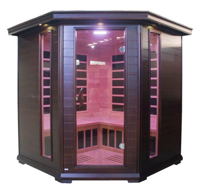 Helsinki sauna mørk - 4 personer