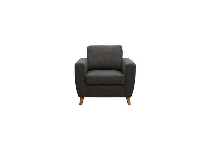 Arendal 1-seter sofa - mørk grå