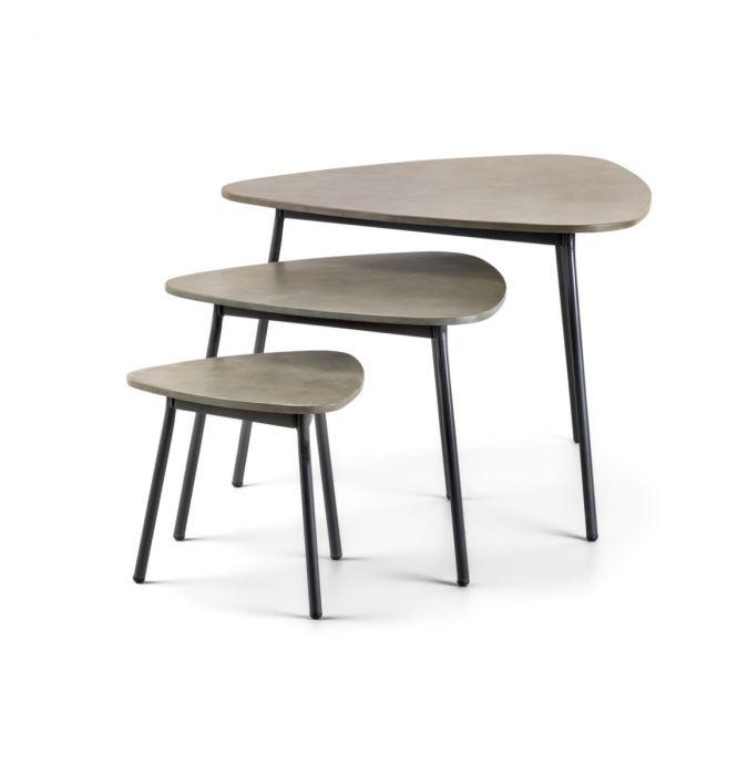 KOS - Pakke med tre kaffebord