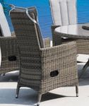 Comfort/Holiday lenestol gråmix m/puter
