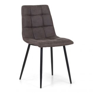 Edvard stol i fargen brun, 2 stk