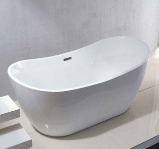 Mauritius frittstående badekar 170 cm